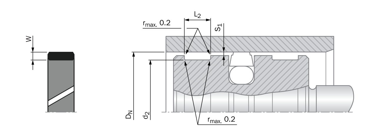 installation drawing table